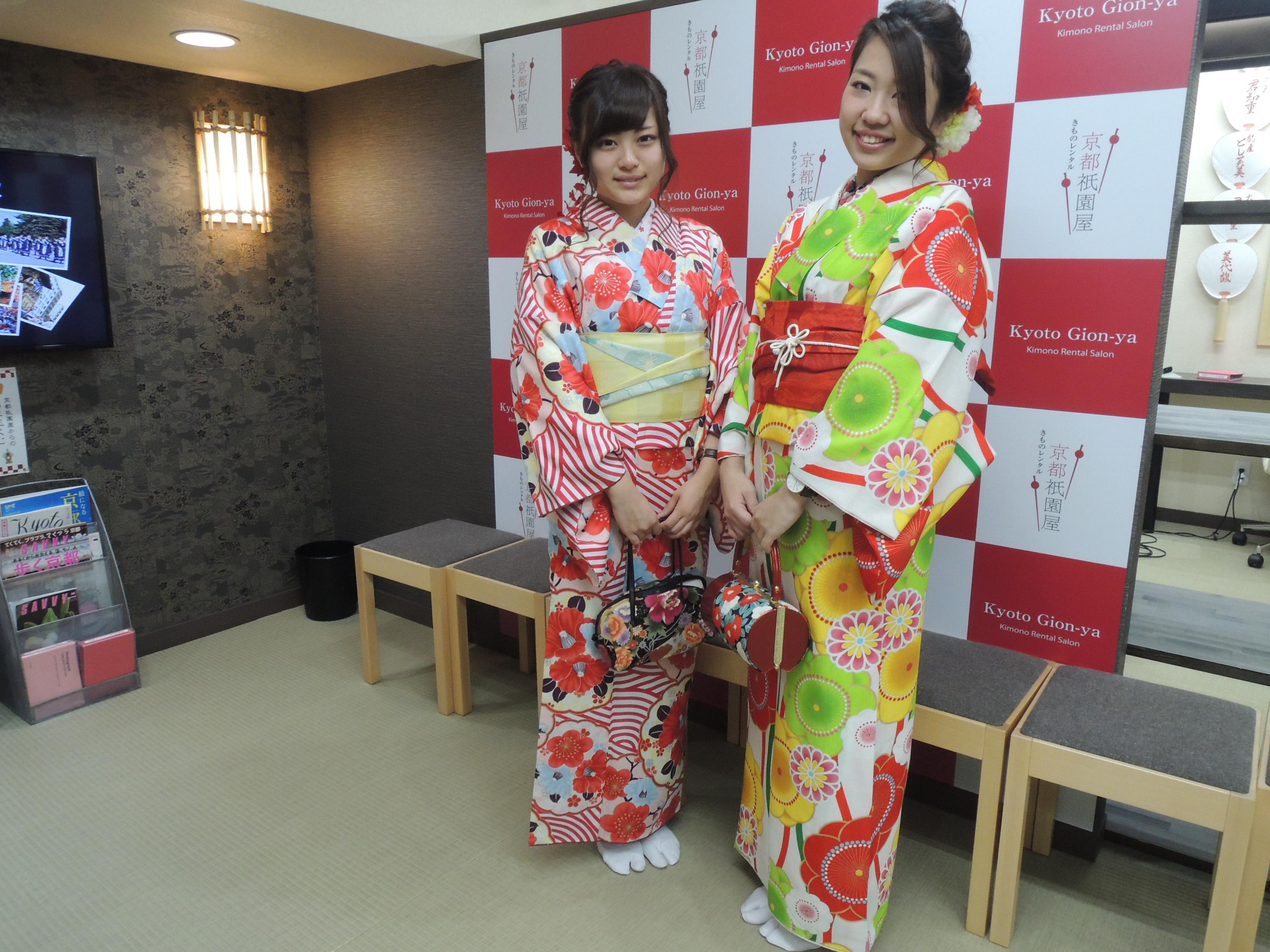 2017.1.9 ¥5,000と¥7,000お着物